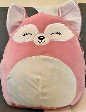 "Large Fox Soft Toy Arctic Fox Squishmallow Fox Plush Large Squishmallow Fox 16"""