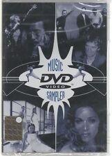 MUSIC SAMPLER DVD MADONNA METALLICA CHER SIGILLATO!!!
