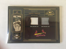 New listing Ozzie Smith And Albert Pujols Game Used Trio Of Swatches