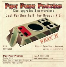 1/35 PPP35030 Cast Panther hull for Tamiya, Dragon and Amusing Hobby Panther G/F