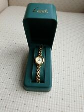 Limit Ladies Gold Plated Watch, boxed