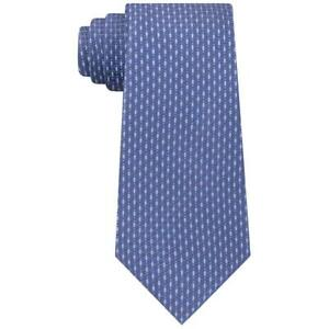 Kenneth Cole Reaction Mens Blue Silk Blend Professional Neck Tie O/S BHFO 5143