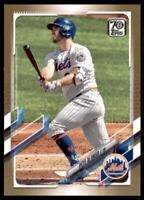 2021 Topps Series 1 Base Gold #84 Pete Alonso /2021 - New York Mets