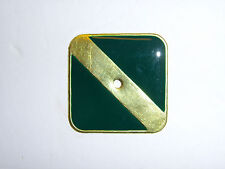 0367g US USMC China Marine Hat Plate 1930's green only R5D