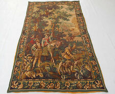Vintage French Beautiful Scene Tapestry 182X115cm (T988)
