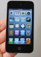 APPLE IPOD TOUCH 4TH GEN 8GB PC540LL/A 6.1.6 BLACK W/ ENGRAVING - TESTED/WORKING