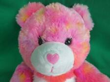 Orange Pink White Tie-Dye Build A Bear Laughing Sound Adorable Baby Plush Toy