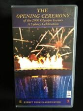 The Opening Ceremony 2000 Olympic Games a Sydney Celebration 2 VHS Video Tape