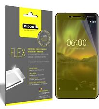 3x Nokia 6 (2018) Screen Protector Protective Film covers 100% dipos Flex