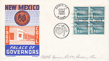 POSTAL HISTORY-1960 FDC NEW MEXICO PALACE OF GOVERNORS CACHET CRAFT KEN BOLL