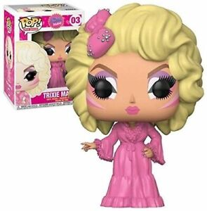 FUNKO POP DRAG QUEENS TRIXIE MATTEL #03 TRIXIE MATTEL VINYL FIGURE~FAST POST 🤑