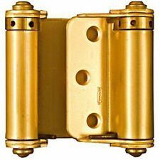 National Hardware V127 Double-Acting Spring Hinge, 3-Inch, Brass