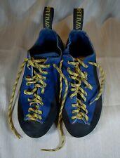 Unisex La Sportiva Mythos Blue/Back Leather RockClimbing Shoes Womens 5/ Mens 4