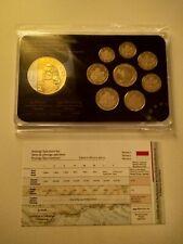 Monaco Münzensatz Grace Kelly + Zertifikat Coinset Gracia Patricia im Blister