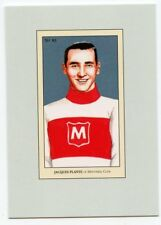 10/11 BETWEEN PIPES 100 YEARS OF COLLECTING #83 JACQUES PLANTE CANADIENS *43830