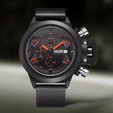 Montre de Luxe Militaire Sportive Homme Megir Date Chronographe Etanche Sport