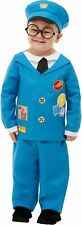 Boys Toddlers Licensed Postman Pat Fancy Dress Costume Infants Book Day Outfit