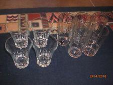 9 Trink Gläser Glas