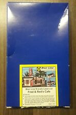 N scale Fred & Red's Cafe. Blair Line.
