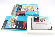 SNES Super Nintendo Super Mario Kart Gioco PAL COMPLETO