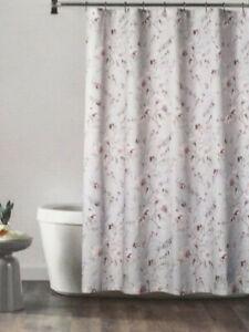 Croscill Fabric Shower Curtain - Alene Gray