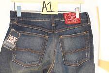 Lucky Brand Women's Sofia Boot Dark Distressed Denim Stretch Jeans Size 7/8 #A1