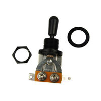 One Black 3 Way Guitar Toggle Switch Pickup Selector Switch For LP Style Guitar