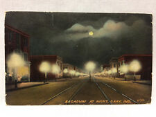 Vintage 1912 Postcard From Gary, Indiana