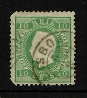 Portugal SC# 37 - Used - Small Side Crease - Lot 082717