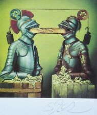 "SIEGFRIED ZADEMACK ""Communication II""HAND SIGNED 1985 LITHOGRAPH German artist"