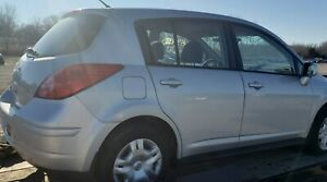 SILVER Trunk Lid door from 2010 NISSAN VERSA S hatchback - local pickup