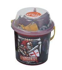 Wild Republic Knights victory and valour Bucket with 26 pieces Toy Figurine