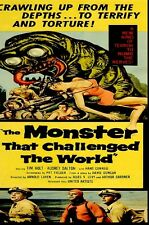 THE MONSTER THAT CHALLENGED THE WORLD DVD B/W 1957