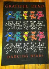 RARE VINTAGE 1994 GRATEFUL DEAD TAPESTRY DEAD BEARS MADE IN ITALY