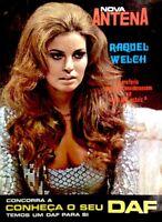 TV Guide 1970 Raquel Welch International Nova Antena NEAR MINT COA RARE