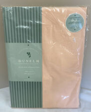 Dunelm Single Size Bed Fitted Sheet - Pastel Apricot - New (D2)