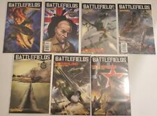 BATTLEFIELDS lot of 7 Dynamite 3,4,6,8, Motherland 1 of 3 and 3 of 3 The tankies