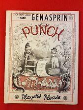 Vintage : PUNCH Magazine : 1st January 1936