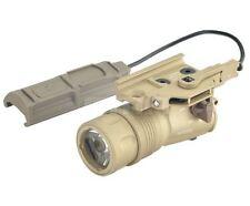 Airsoft FMA m720v RAID arme lumière cree pression Pad surefire style tan de UK