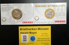 Österreich 50 Schilling 2001 Bimetall Blister Kurier -- Eiamaya