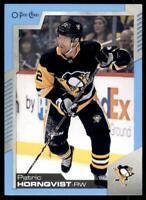 2020-21 UD O-Pee-Chee Blue Border #282 Patric Hornqvist - Pittsburgh Penguins