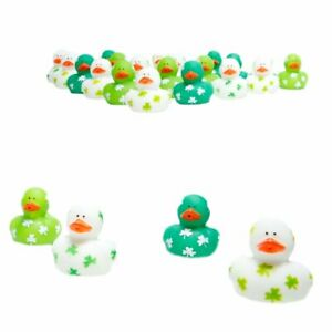 Mini Shamrock Rubber Duckies
