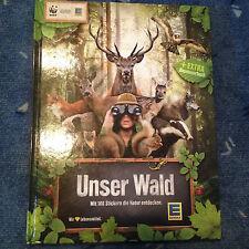 EDEKA WWF 2013 Album - UNSER WALD - alle 180 Sticker - KOMPLETT