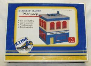 NIB Vintage K-Lineville Classics Pharmacy  No. K-4223 O Scale Kit