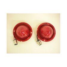 1958-1967 Chevy Corvette 15 LED Stop Turn Tail Lights / 58-60 Vette Inner Red