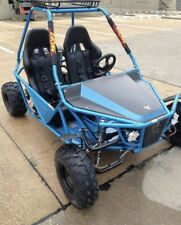 New Oil Cooled Go Kart 200cc GKM-200 Automatic Transmission w/Reverse in Blue