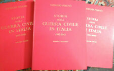 STORIA DELLA GUERRA CIVILE IN ITALIA 1943-1945.ed 1965 FPE fascismo Pisanò