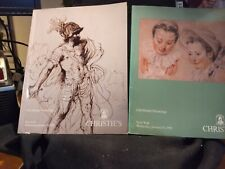 (2)Christie's Catalogs Old Master Drawings New York Jan 1992 & 1993