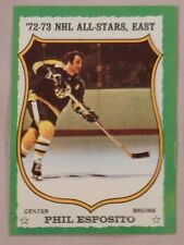 1973 Topps Phil Esposito Boston Bruins #120 Hockey Card