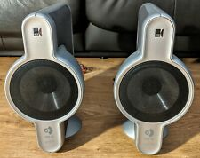 Rare KEF Uni-Q Kit100S SP3421 Satellite Stereo HiFi Surround Sound Speakers